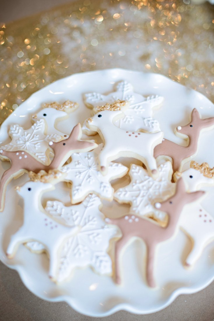 Reindeer Cut-Out Cookies