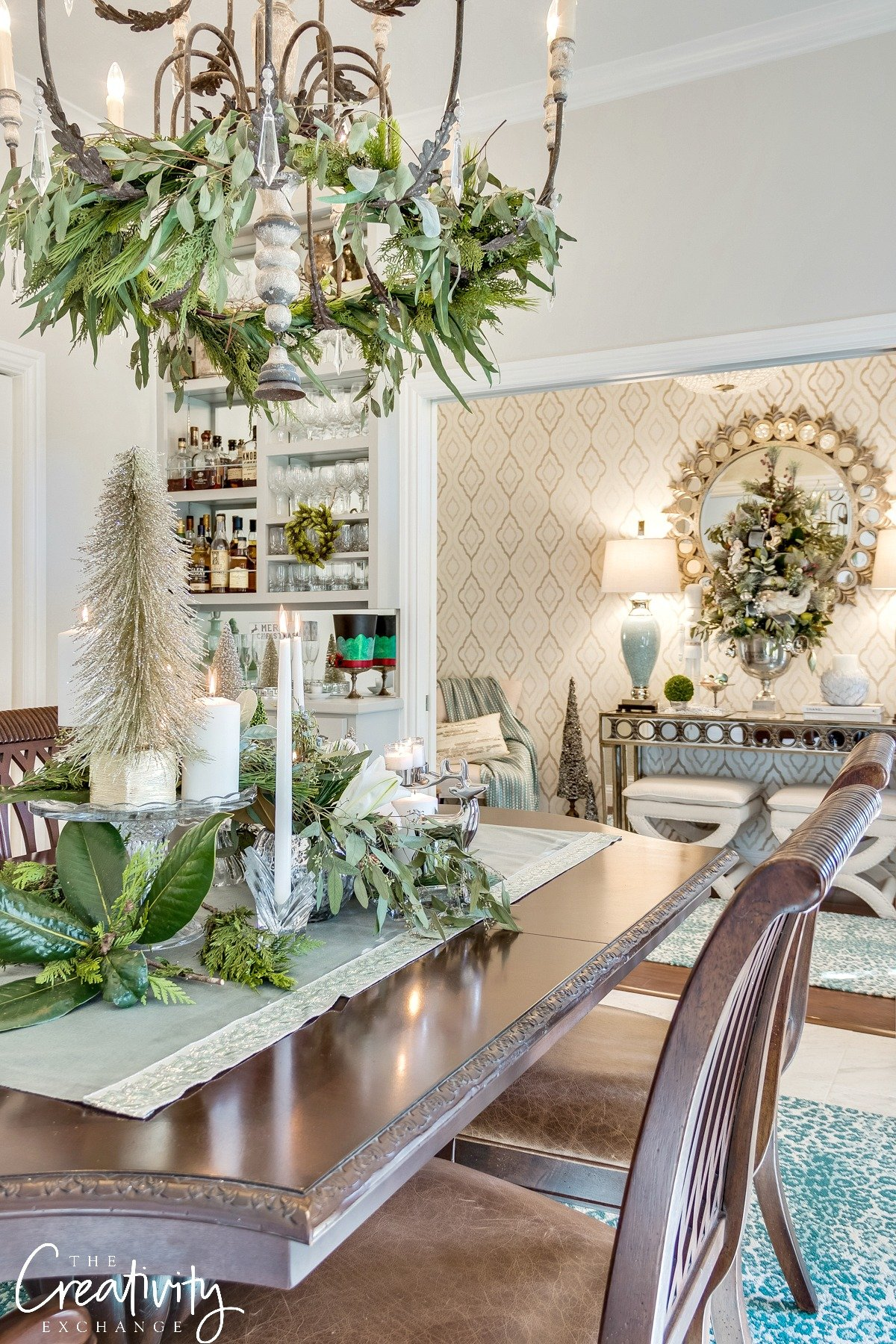 The Creativity Exchange's Christmas Home Tour.