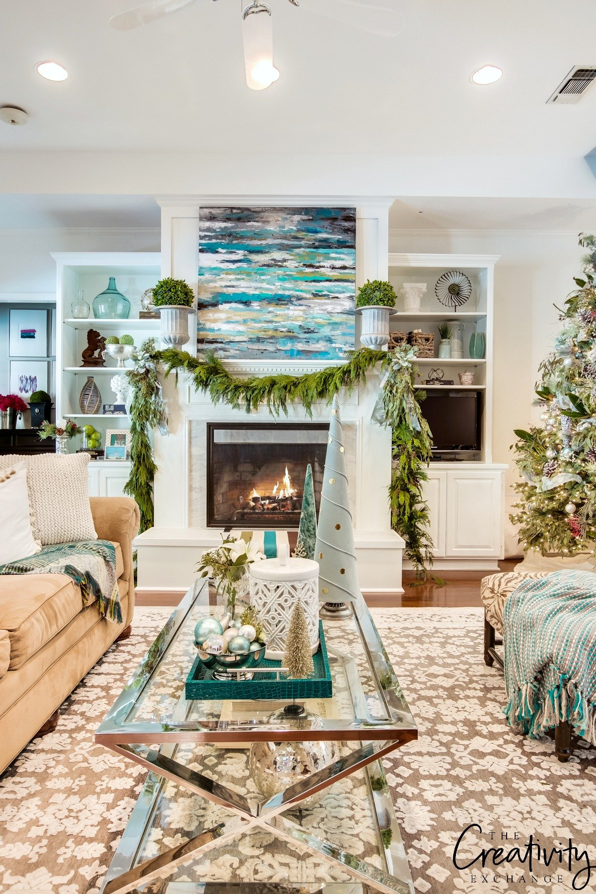 The Creativity Exchange's Christmas Home Tour