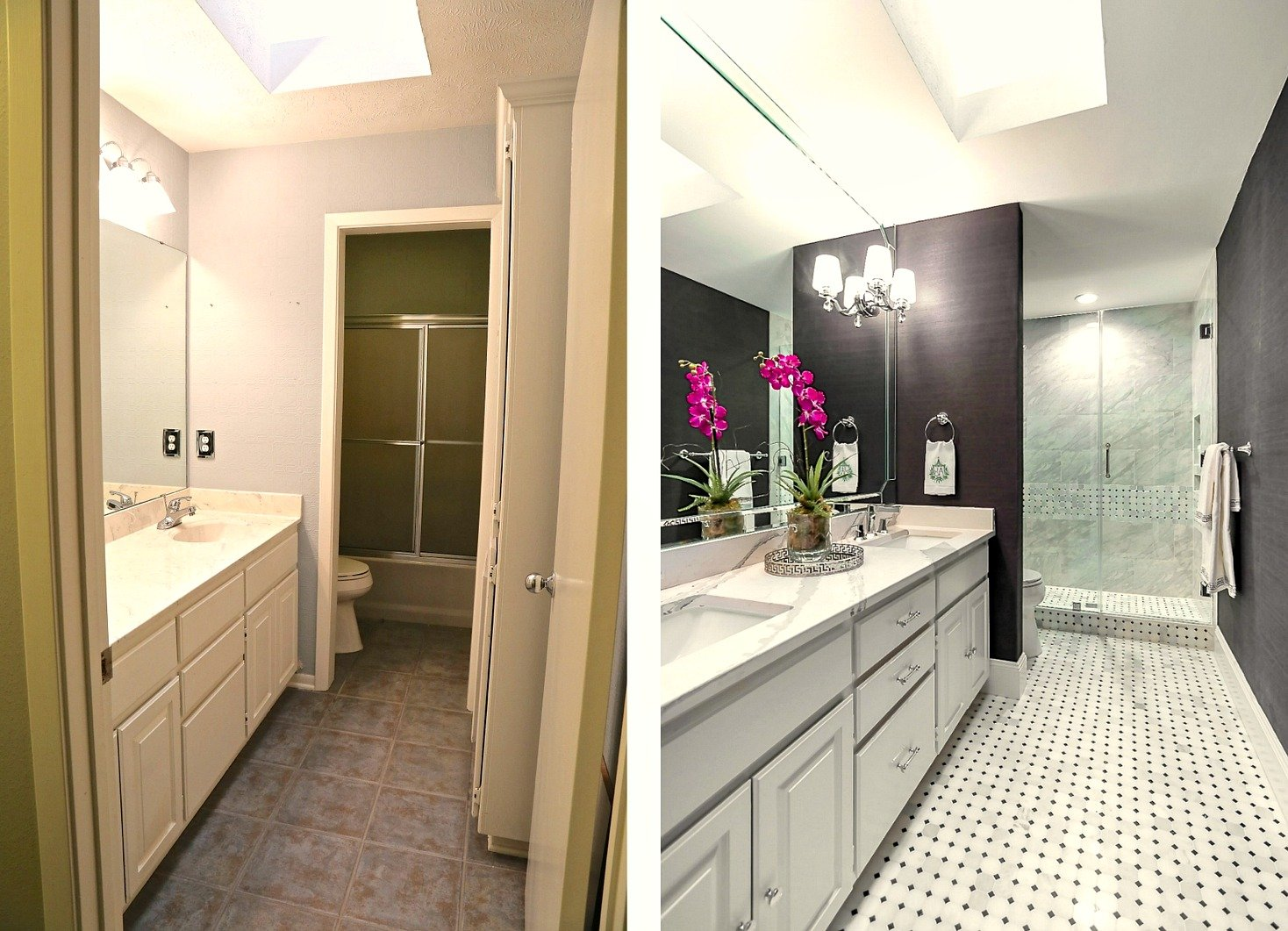 Guest Bathroom Remodel guest bathroom remodel reveal