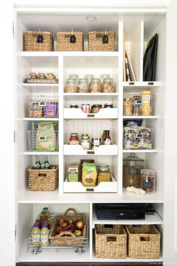 Beautifully Organized Pantry