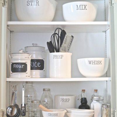 Creative Kitchen Organizing