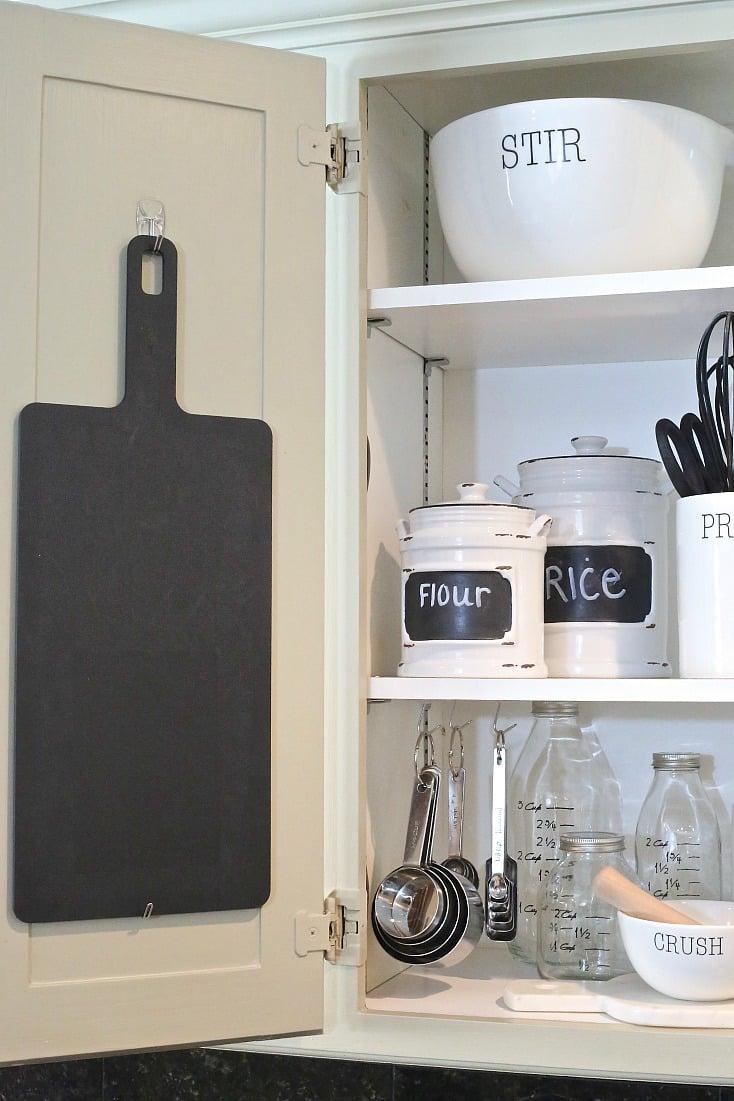 Creative ways to organize kitchen cabinets