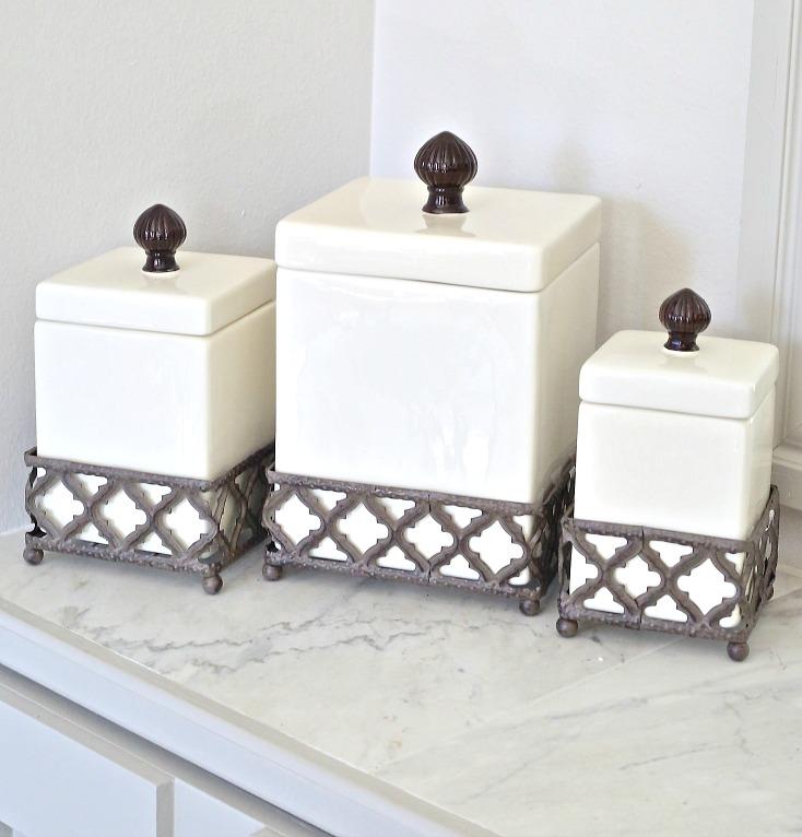 Kingston Ceramic Canister Set from Kirkland's.