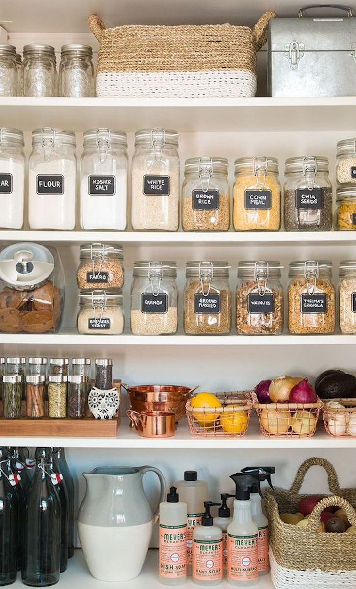 Pretty Pantry Organization