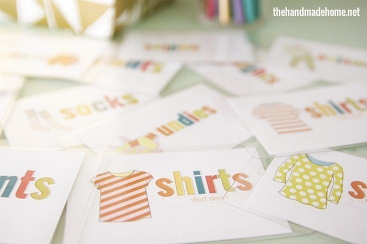 Printable Clothes Labels