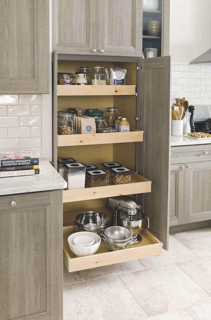Pull Out Pantry Drawers