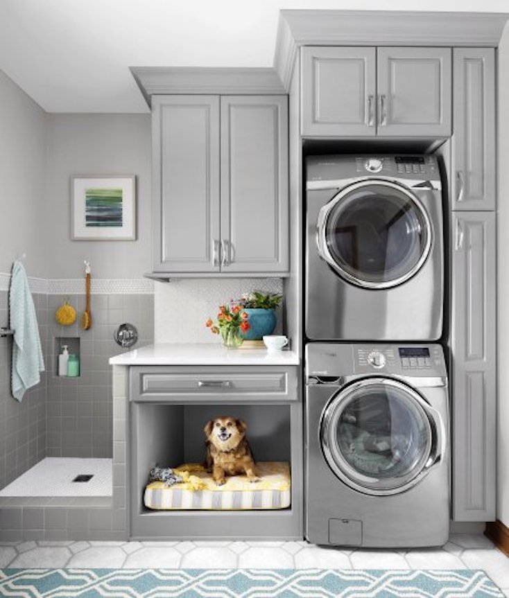 Creative and inspiring laundry rooms for 6x6 room design