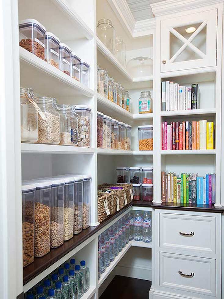 Creative Pantry Organizing Ideas and Solutions on creative kitchen backsplashes ideas, creative kitchen countertop ideas, creative kitchen sink ideas,