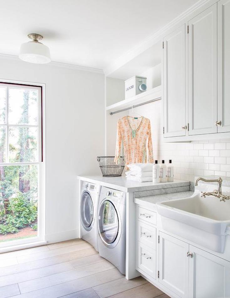 Creative and Inspiring Laundry Rooms on Laundry Cabinet Ideas  id=50283