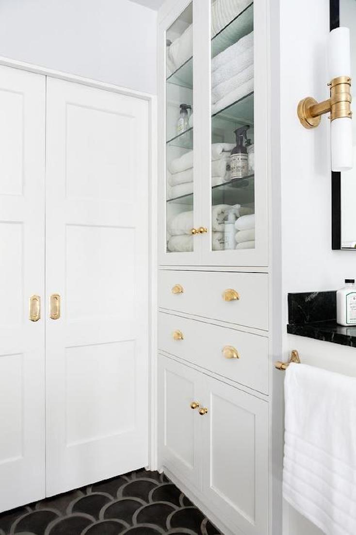 bathroom built in cabinet creative ways to incorporate built in cabinetry 10988