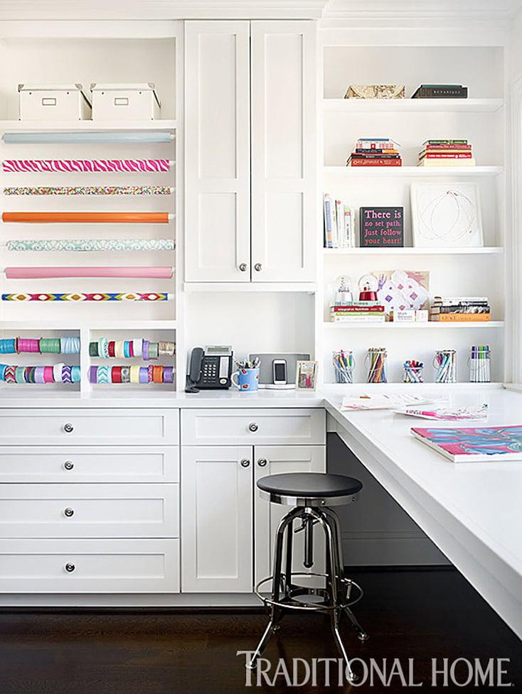 Craft Room Built-Ins