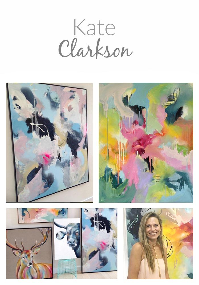 Painter Kate Clarkson- Artist Spotlight