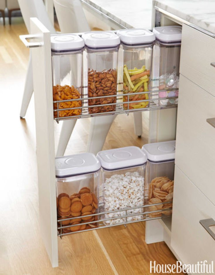 Pull Out Snack Bins