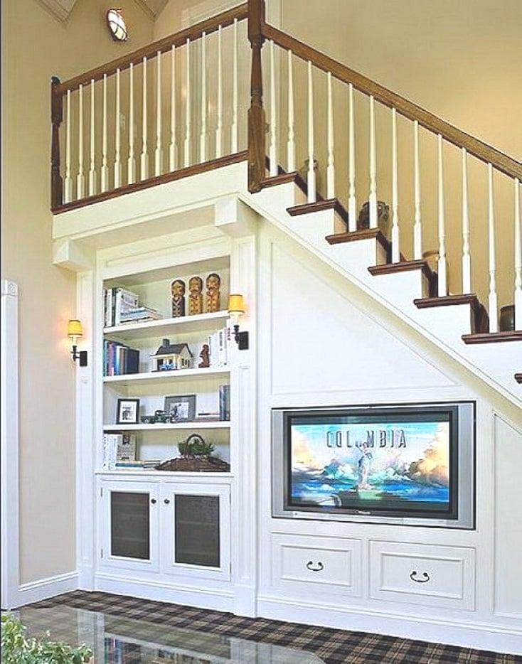 Under-Stair Built-Ins