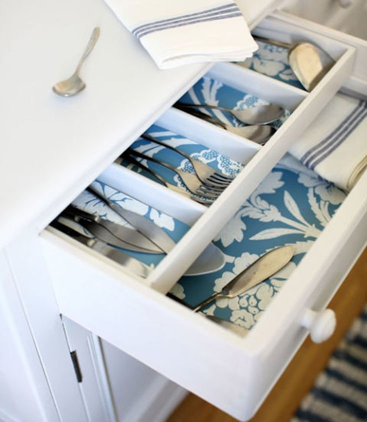 Wallpaper Drawer Liners