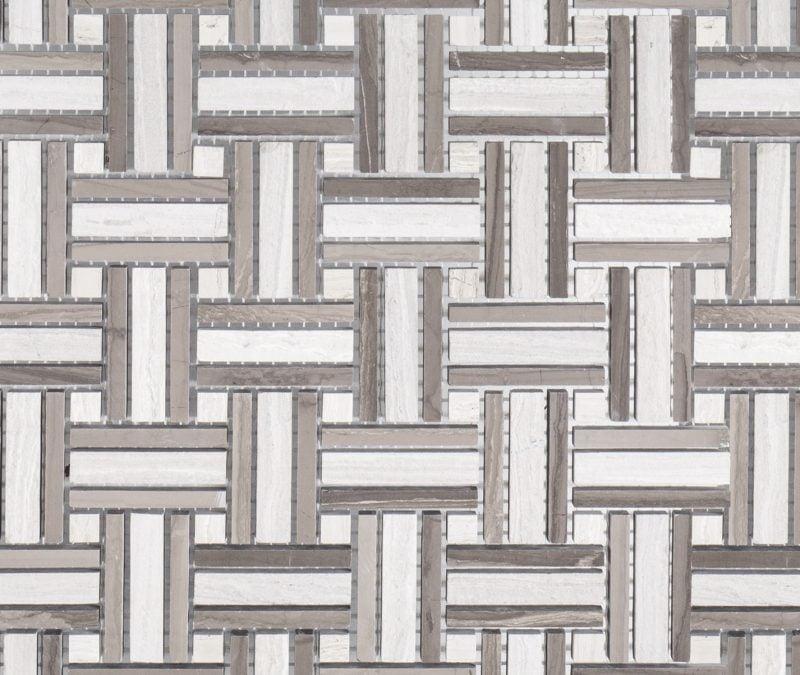Barrington Limestone Mosaic. Jeff Lewis Tile at Home Depot