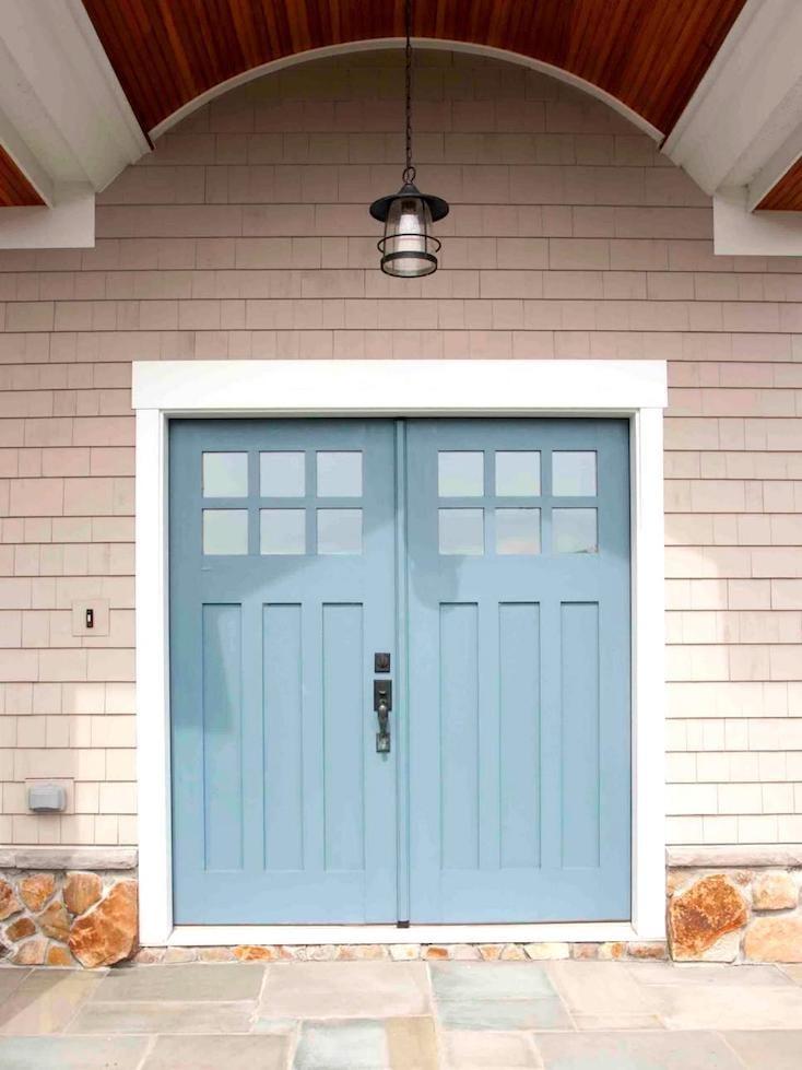 Popular front door paint colors - Blue front door colors ...