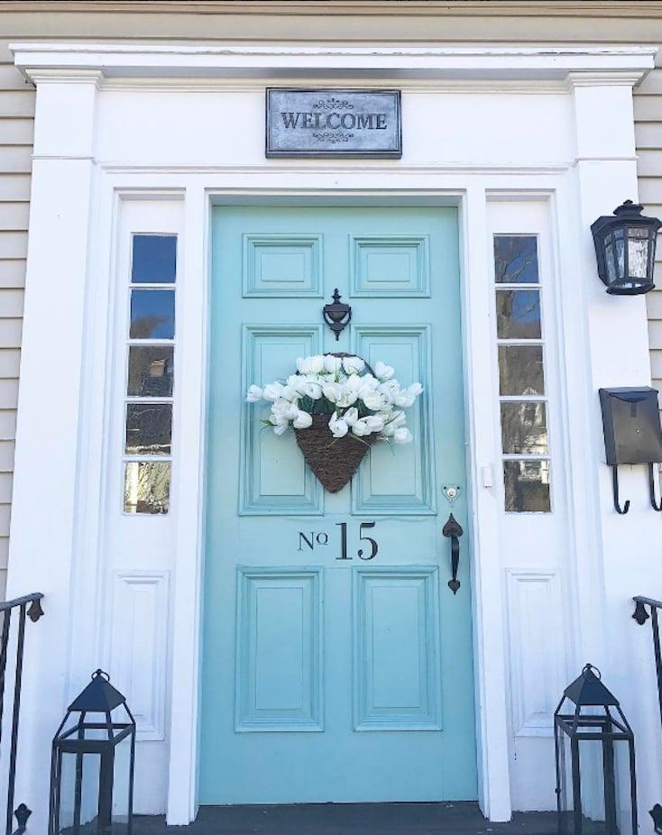 Best Color Paint For Torquoise Front Door