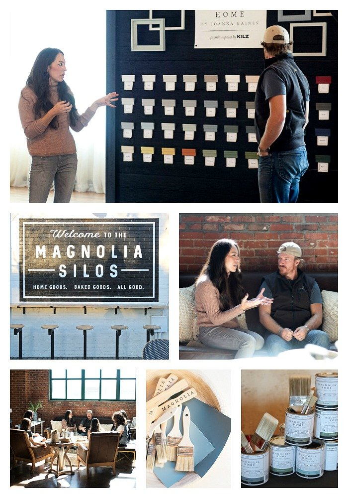 Chip and Joanna Gaines Magnolia Home Paint Event in Waco