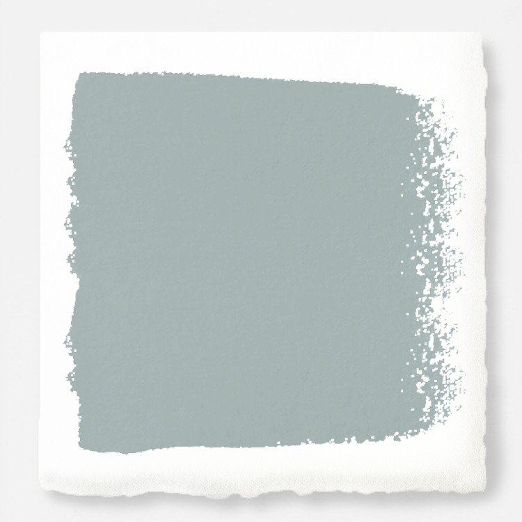 Magnolia Home Chalk Finish Paint by Joanna Gaines. Color is Rainy Days