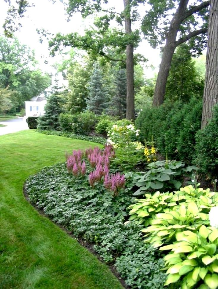 Landscaping Ideas For Front Yard Of Semi Detached : Creative landscape ideas with big impact
