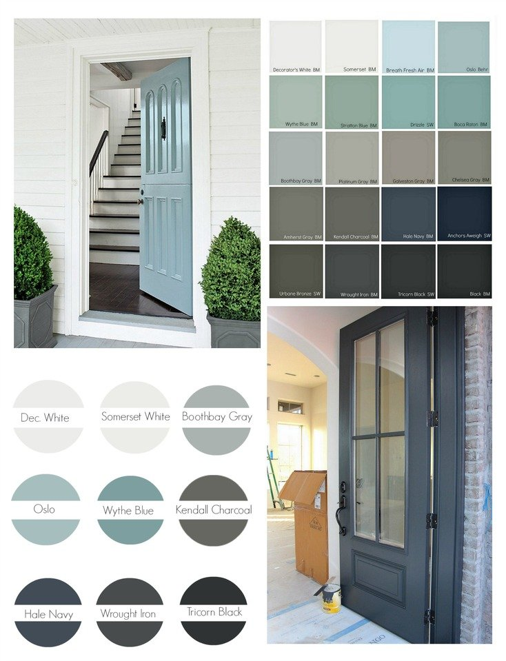Popular front door paint colors - Front door paint colors ...