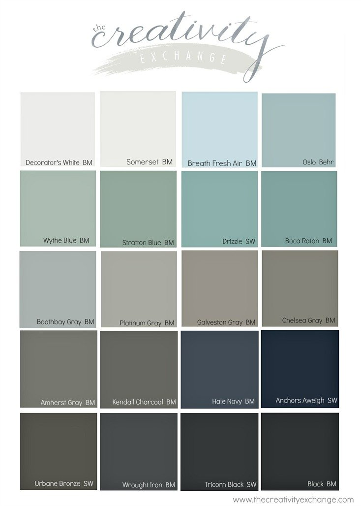 Popular Front Door Paint Colors.