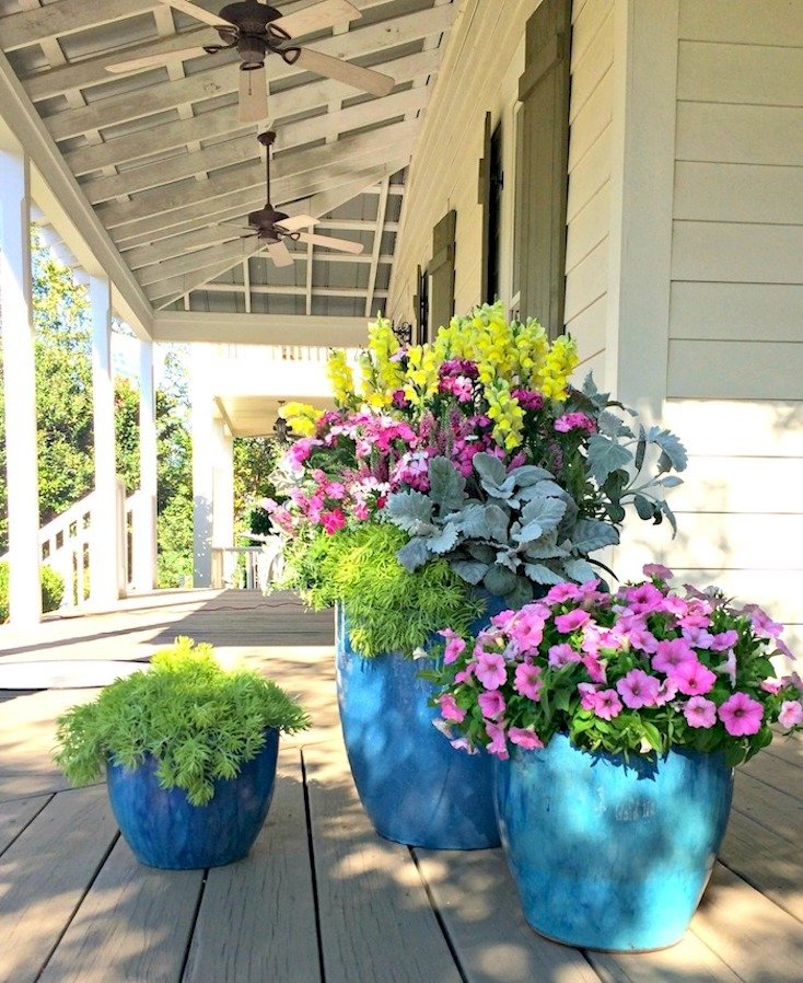 Creative spring garden pots and planters - Ideas for making flower pots ...
