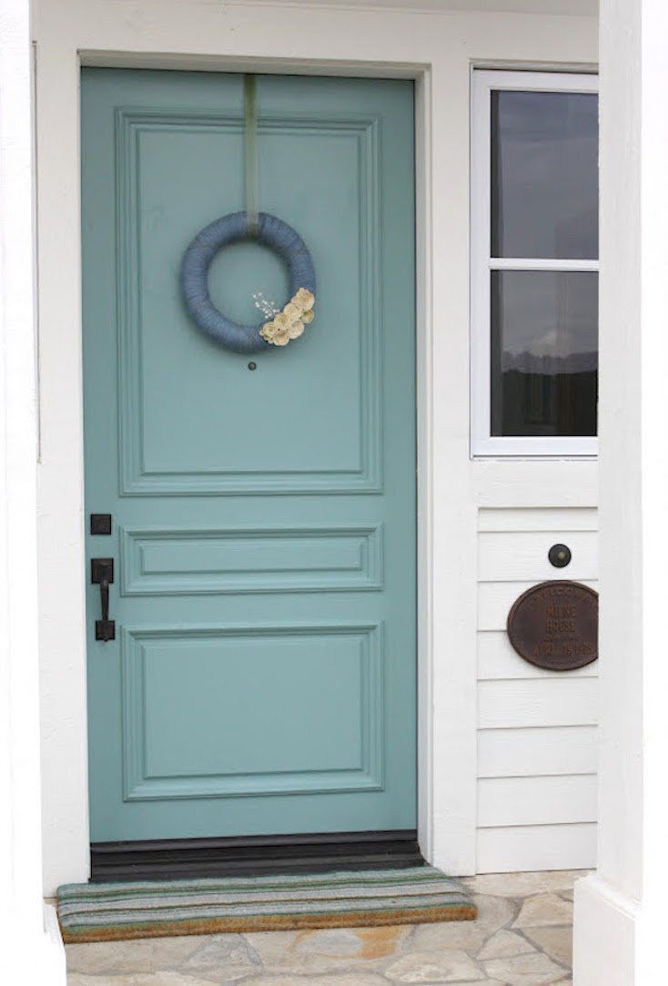 Popular front door paint colors - Sherwin williams exterior colors ...