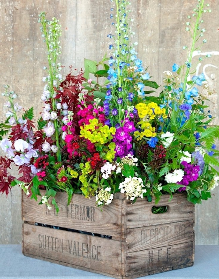 Wooden Crate Arrangement