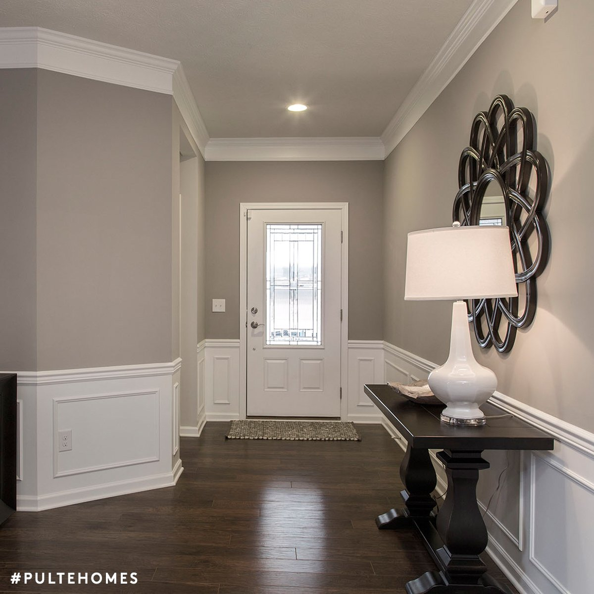 Sherwin williams mindful gray color spotlight - Grey paint living room ...