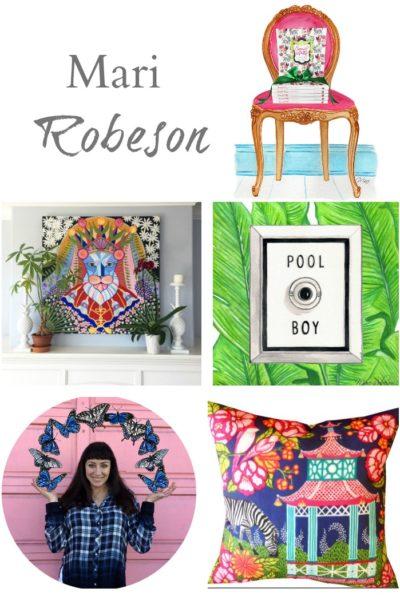 Artist Mari Robeson. Artist Spotlight