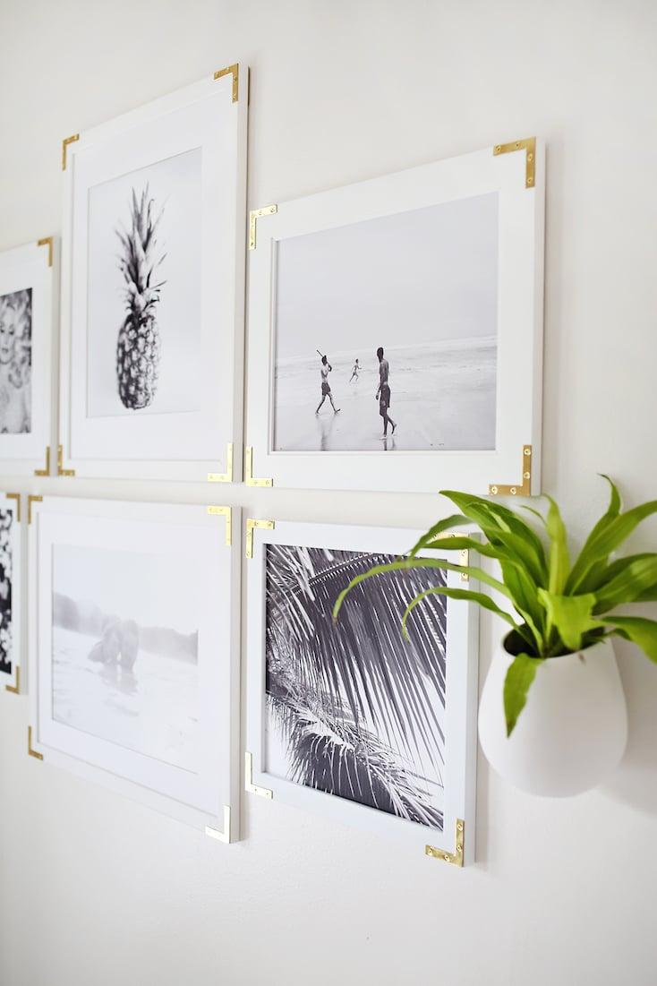 Gold Frame Corner Gallery