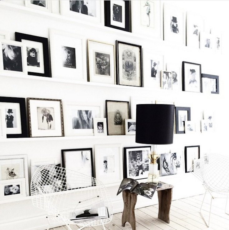 Photo Shelf Gallery Wall