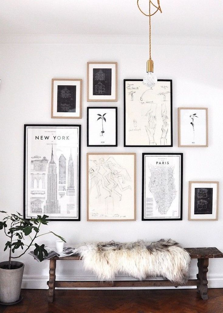 Travel Themed Gallery Wall
