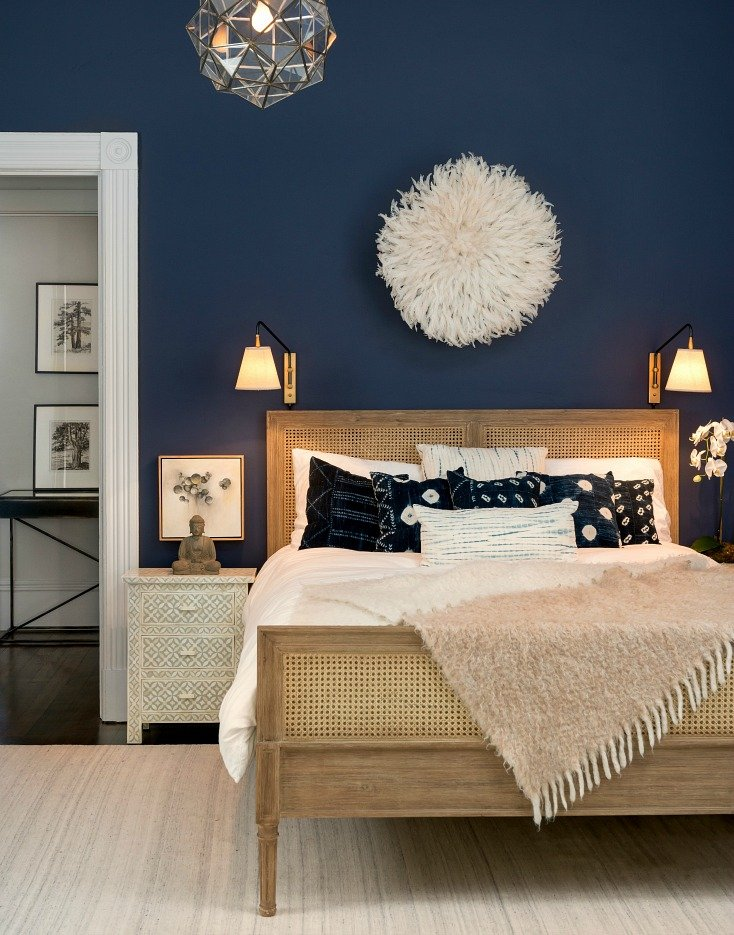 Wall color is Benjamin Moore Stunning