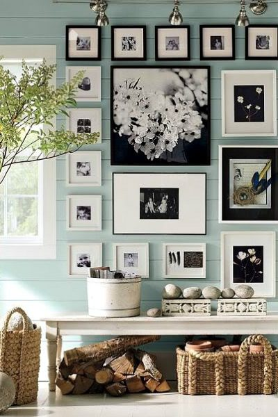 Wall color is Wedgewood Gray