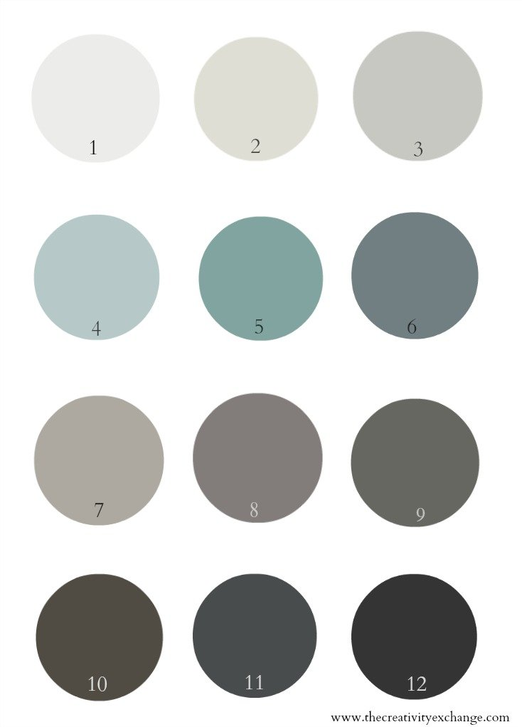 Pretty interior door paint colors to inspire you for Interior paint colors that go together