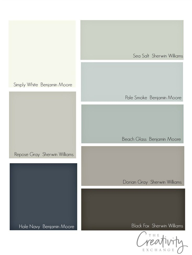 Tips for choosing whole home paint color scheme Home interior paint schemes