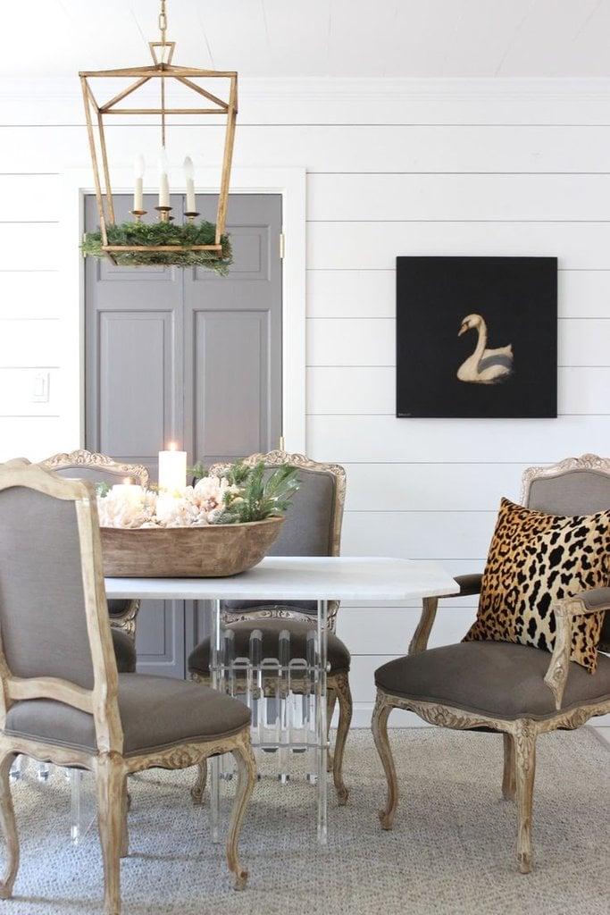 Door color is Benjamin Moore Granite. Sherry Hart Designs.