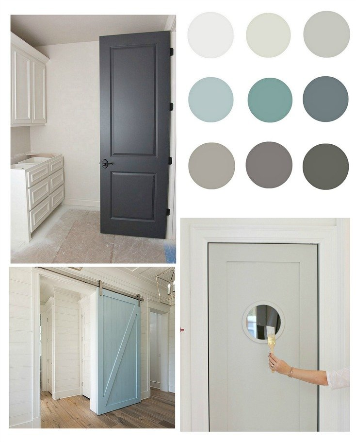 Pretty interior door paint colors to inspire you for Paint for doors interior