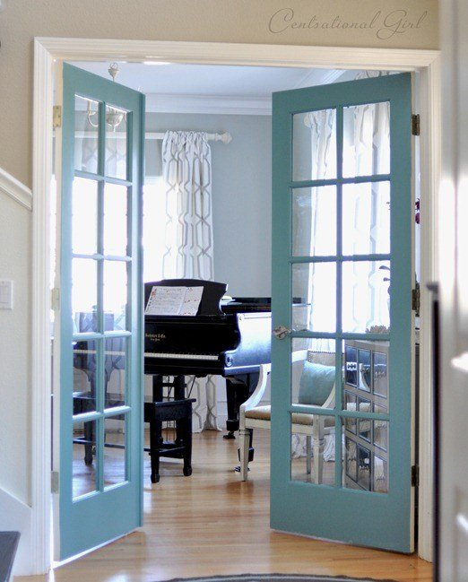 pretty interior door paint colors to inspire you. Black Bedroom Furniture Sets. Home Design Ideas
