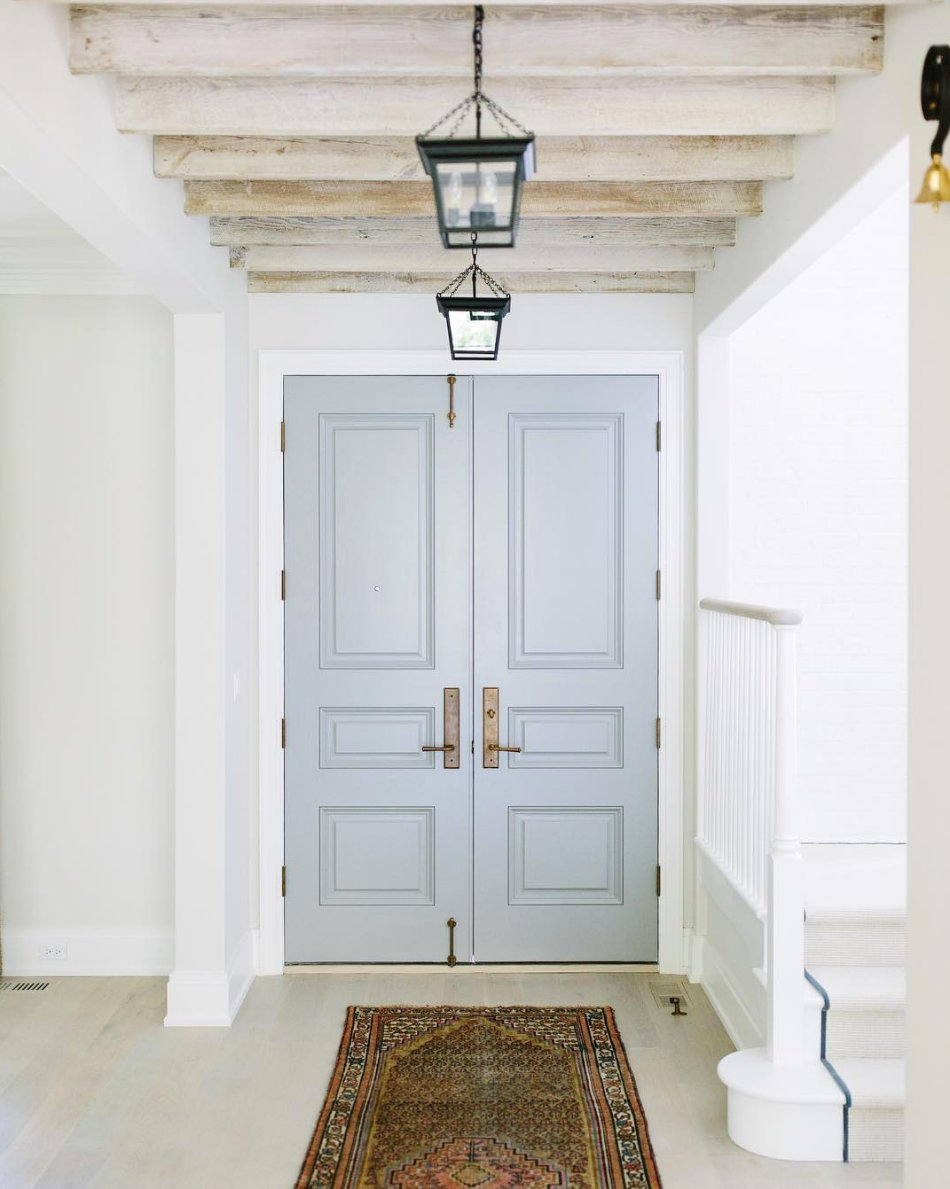 Door Color Is Benjamin Moore Cape May Cobblestone