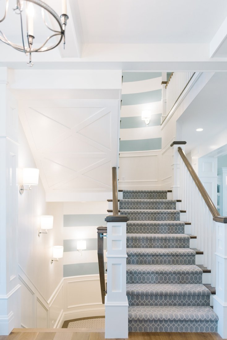 Stripped Stairway Walls