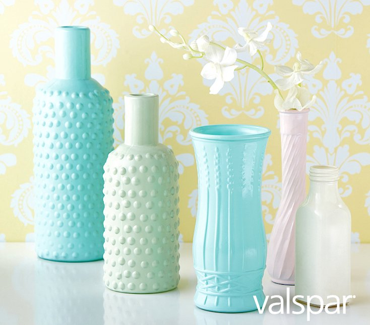 Valspar Milk Glass Paint
