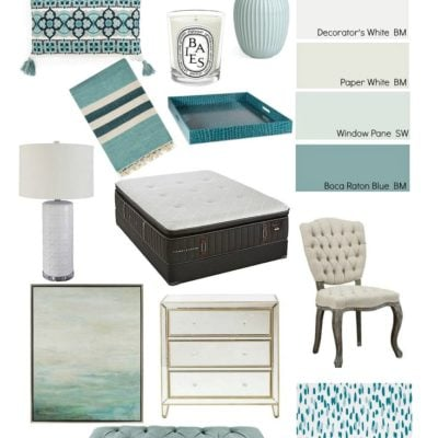 Master Bedroom Makeover: The Plan