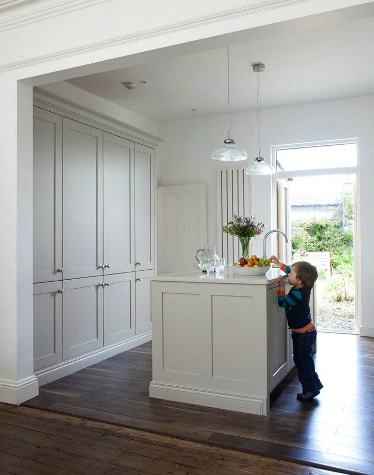 Cabinetry Color Is Farrow And Ball Hardwick White