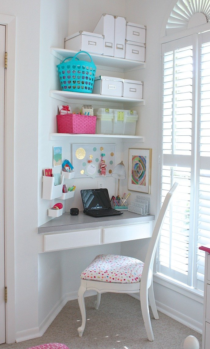 Easy tips for organizing children's spaces.