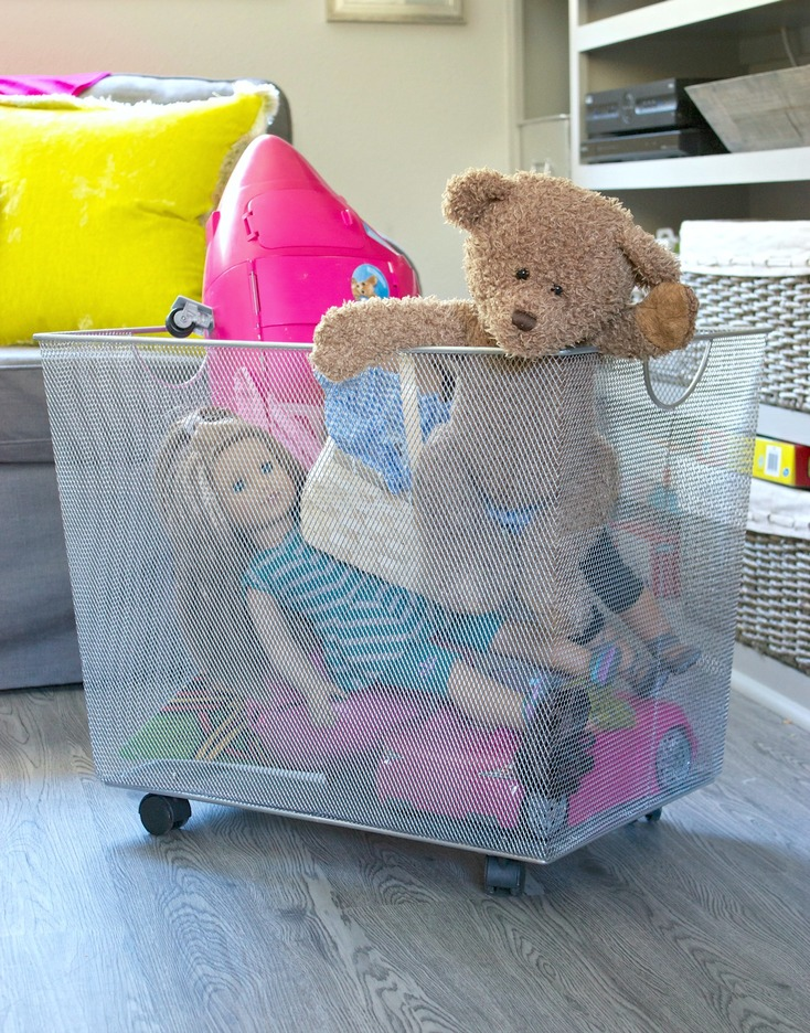 Easy tricks for organizing children's Spaces.